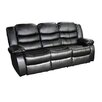 <strong>Dream Lounge Sofa Bonded Leather 3+1+1 Recliner Chair</strong> by Melbournians Furniture