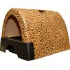 <strong>Kittyagogo</strong> Designer Cat Litter Box with New Leopard Print Cover