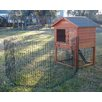 <strong>Deluxe Rabbit Hutch Complex Peak Roof</strong> by Bono Fido