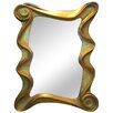 <strong>Deco Mirror in Gold</strong> by G & G Brothers