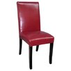 <strong>Polo Dining Chair in Burgundy (Set of 2)</strong> by G & G Brothers