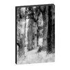 <strong>Caroline Gorka Through The Forest Framed Canvas Print</strong> by Artist Lane