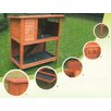 <strong>Rabbit Hutch 2 Story Premium</strong> by All Pet Products