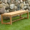 <strong>Three Birds Casual</strong> Charleston Teak Picnic Bench