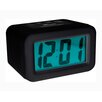 Rubber Coated Alarm Clock Laviva Lights