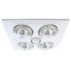<strong>Four Light Flush Ceiling Light</strong> by Crompton Lighting