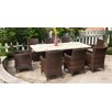 <strong>Sorrento 9 Piece Square Table Set</strong> by Sunlong Garden