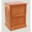 <strong>2 Drawer Filing Cabinet</strong> by Mahogany by Hand