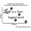 Love is a Four ... DIY Removable Wall Sticker HM Wall Decal