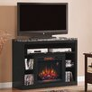 "Classic Flame Adams 48"" TV Stand with 23EF031GRP Electric Fireplace"