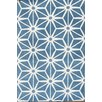 Chandra Rugs Davin Blue Area Rug