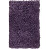 Chandra Rugs Paper Shag Purple Area Rug (Set of 2)
