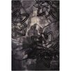 Chandra Rugs Ornate Black Area Rug