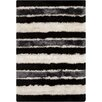 Chandra Rugs Fola Black/White Area Rug
