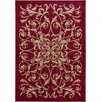 <strong>Chandra Rugs</strong> Taj Red Floral Rug