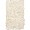 Chandra Rugs Paper Shag White Area Rug (Set of 2)