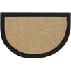 Chandra Rugs Half Moon Black/Tan Area Rug