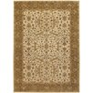 Chandra Rugs Cesta Ivory / Brown Area Rug