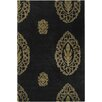 Chandra Rugs Dharma Black/Tan Area Rug
