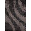 Chandra Rugs Fola Black/Gray Area Rug