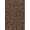 Chandra Rugs Jaipur Brown Swirls Area Rug