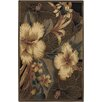 Chandra Rugs Nassau Taupe Floral Area Rug
