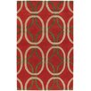 Chandra Rugs Rowe Red Area Rug
