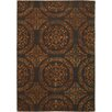 Chandra Rugs Satara Brown/Orange Area Rug