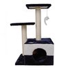 Cat Scratching Poles Tree (Blue) i.Life