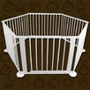 Baby Natural White Wooden Playpen - 6 Gates i.Life