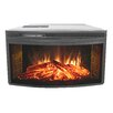 <strong>Curved Electric Firebox</strong> by Muskoka