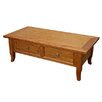 <strong>Beresford Living</strong> 150cm Provincial 2 Drawer Coffee Table