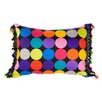 <strong>Dots'Nspots Cushion in Black</strong> by Glamour Hanger