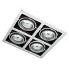 <strong>12V 50W Twist Cap Quad Gyro Square Recessed Downlight</strong> by Tech Lights