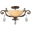 <strong>Barcelona 3 Light Semi Flush Mount</strong> by Fredrick Ramond