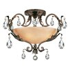 <strong>Fredrick Ramond</strong> Barcelona 4 Light Semi Flush Mount