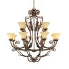 Firenza 12 Light Chandelier