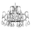 <strong>Fredrick Ramond</strong> Xanadu 12 Light  Candle Chandelier