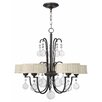 <strong>Fredrick Ramond</strong> Prosecco 5 Light Chandelier