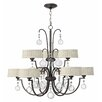<strong>Fredrick Ramond</strong> Prosecco 9 Light Chandelier