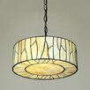 Modern Style Stained Glass Ceiling Light Forest Tiffany