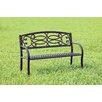Hokku Designs Swirling Romance Outdoor Garden Bench
