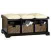 Hokku Designs Upholstered Entryway Storage Bench