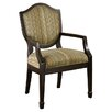 <strong>Hokku Designs</strong> Bernetta 3 Piece Cotton Arm Chair and Side Table Set