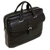 <strong>Vernazza Borella Leather Laptop Briefcase</strong> by Siamod