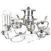 <strong>Magefesa</strong> Vitaltherm Stainless Steel 24-Piece Cookware Set