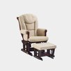 <strong>Sleigh Style Matching Glider and Ottoman</strong> by Shermag