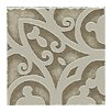 "Lunar Listello Corner 2"" x 2"" Tile Accent in Beige"