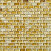 Shaw Floors Glass Expressions Micro Blocks Accent Tile in Amber
