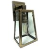 String Light Company 1 Light Outdoor Wall Sconce